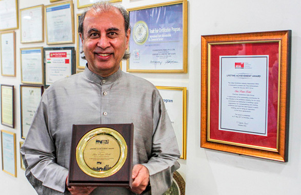 Exhibitions India Group chairman receives lifetime achievement award