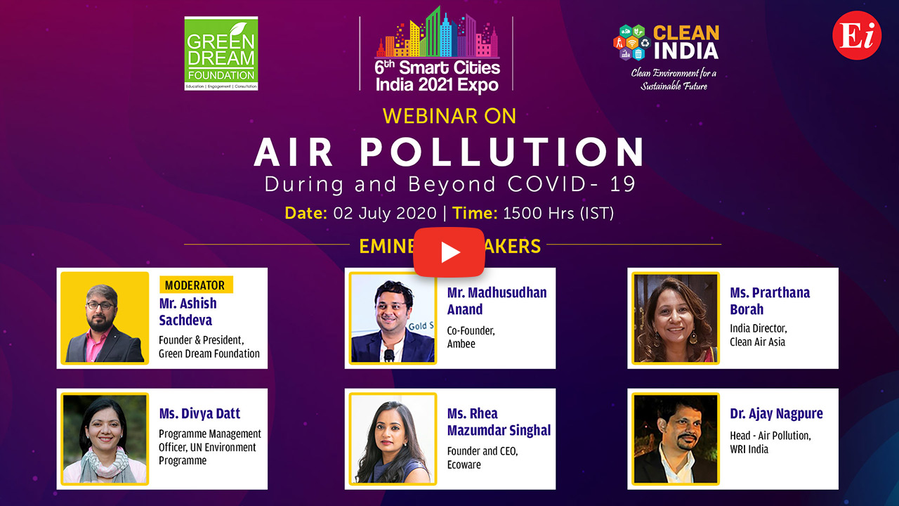 Webinar on Air Pollution: During and Beyond COVID-19