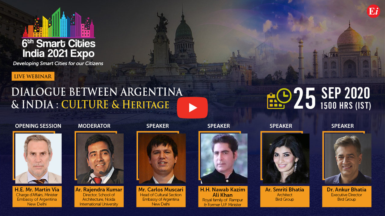 Webinar on Dialogue between Argentina & India : Culture & Heritage