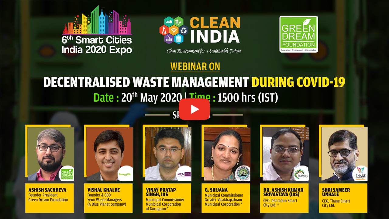 Webinar on Decentralized Waste Management during Covid-19
