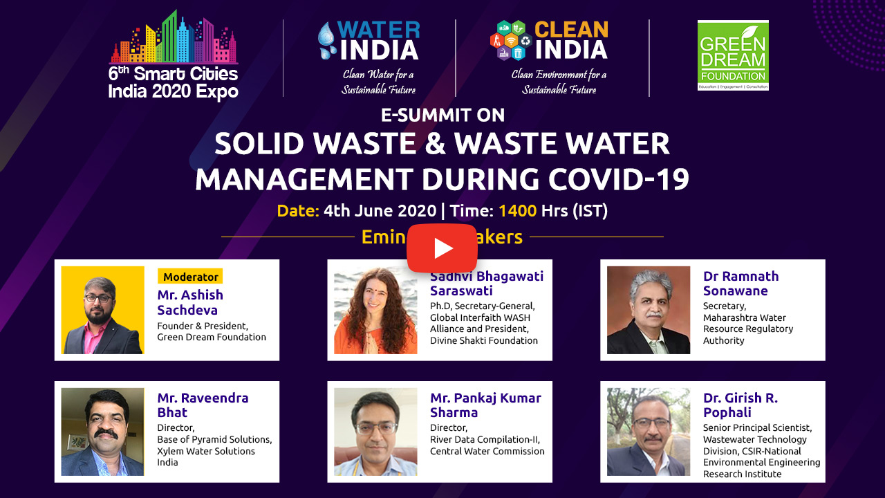 E Summit Solid Waste & Waste Water Management during COVID-19