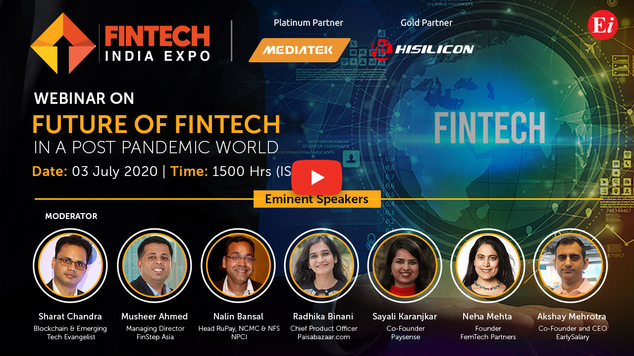 Webinar on Future of FinTech in a Post Pandemic World