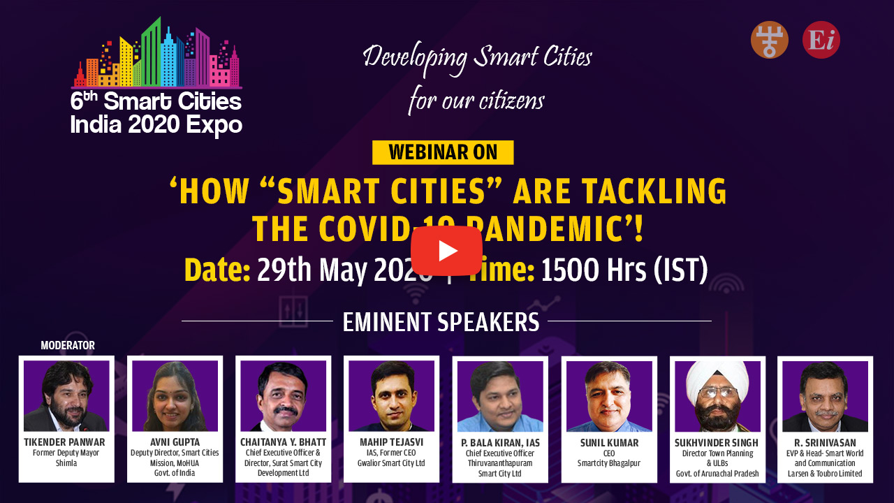 Webinar on How Smart Cities are tackling the COVID-19 Pandemic