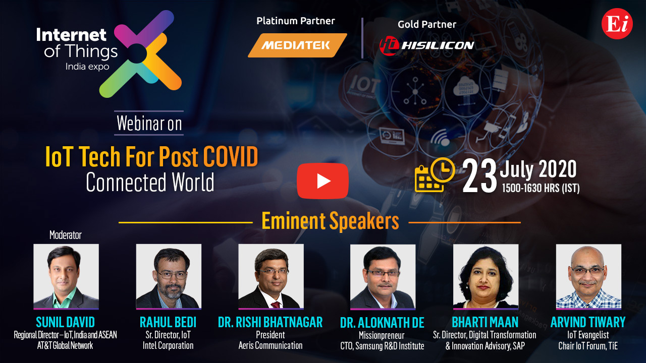 Webinar on IoT Tech Post Covid - Connected World