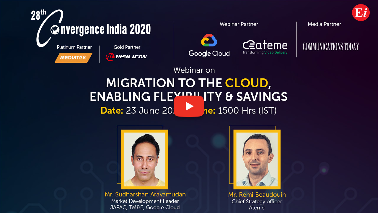 Webinar on Migration to the Cloud, Enabling Flexibility & Savings