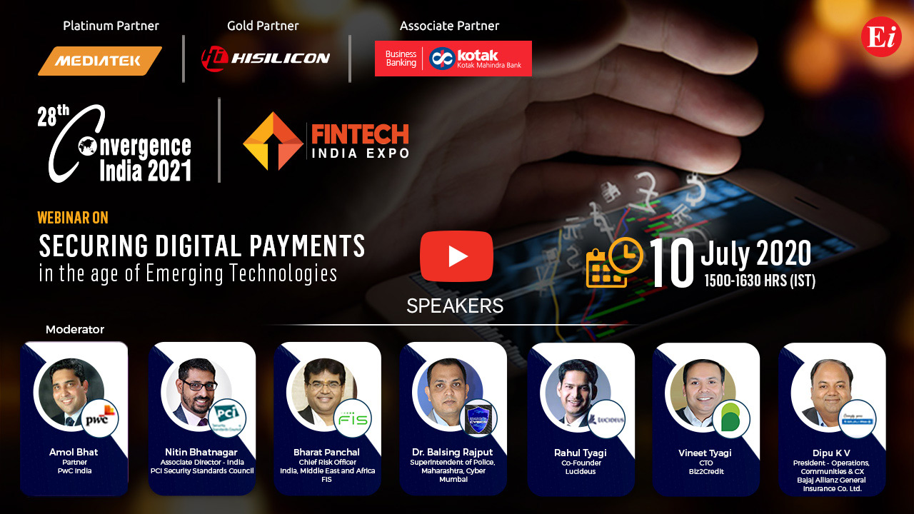Webinar on Securing Digital Payments In The Age Of Emerging Technologies