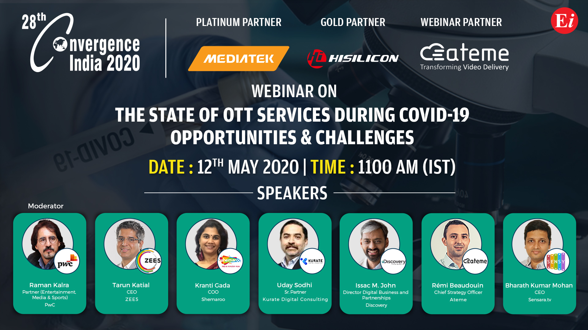 Webinar on The State of OTT Services during COVID-19
